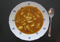 Slepá gulášová polévka