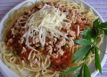 Špagety se sójovým masem