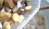 Staročeský houbový guláš