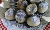Švestkové knedlíky z odpalovaného těsta
