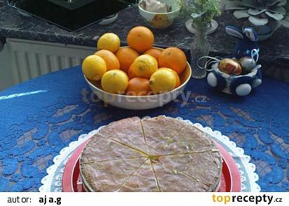 Tvarohovo mandarinkový dort