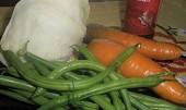 Vepřové řízečky na fazolkách