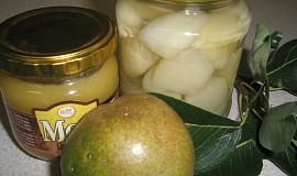 Zavařené hrušky s citronem