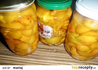 Zavařené meruňky