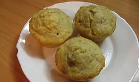 Banánový muffin