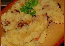 Bramborová kaše se slaninou (moravská)