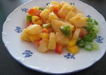Bramborový salát s paprikou