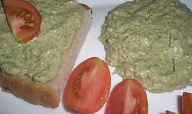 Brokolicová pomazánka.
