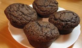 Čokoládové muffins