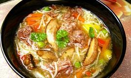 Hovězí polévka -přesnídávková