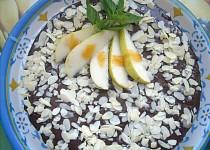 Hruškovo-čokoládový koláč