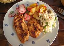 Indické opečené kuře
