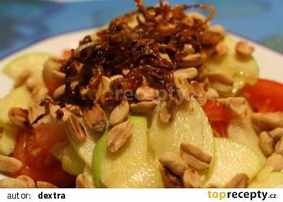 Jablečný salát s rajčaty