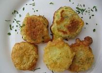 Slavnostní brambory ve vaječném těstíčku s petrželkou