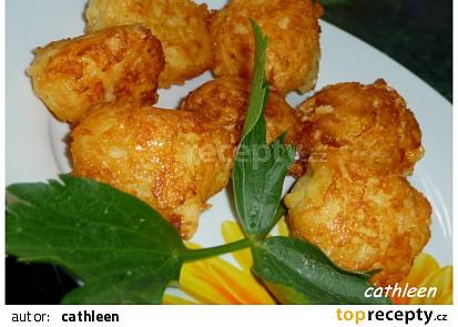 Smažené bramborové kuličky