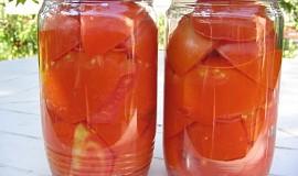 Sterilovaná rajčata na všechno