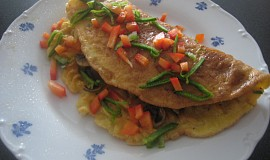 Těstovinová omeleta