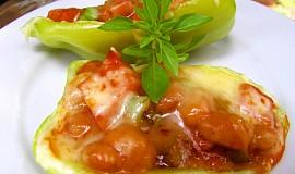 Zapečené papriky s fazoleni