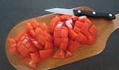 Zeleninová polévka se šunkou