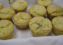 Citrónové muffiny s mákem