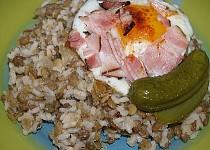 Čočka s rýží