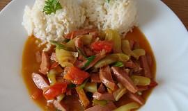 Cuketová čína s rýží