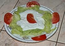 Ledový salát s nivovou zálivkou