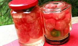 Meloun  s feferonkou