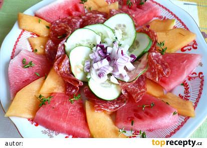 Nevšední melounový salát