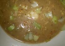 Nivovo-chlebová polévka s houbami
