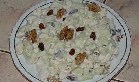 Okurkový salát s Hermelínem