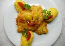 Pangasius v sýrovém těstíčku