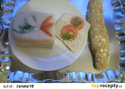 Paštika z uzených makrel