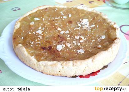 Pravý dýňový koláč s mandlemi