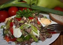 Salát z mletého masa