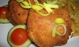 Smažené tvarůžky s herkulesem a anglickou slaninou