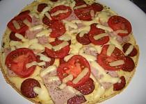 Blesková pizza na pánvi