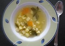 Bramborová polévka se zeleninou