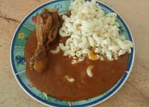 Čili kuře s paprikou