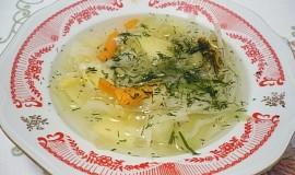 Francouzská zeleninová polévka