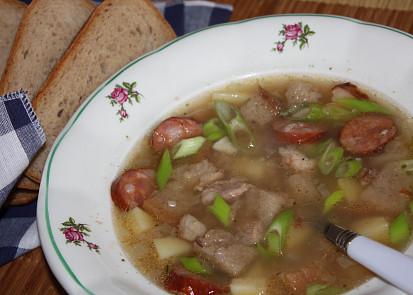 Hajducká polévka