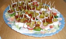 Jednohubky se zeleninou
