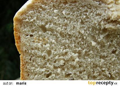 Jemný chléb bez vážení