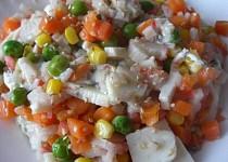 Surimi tyčinky se zeleninou a Šmakounem