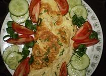 Lahodně plněná smetanová omeleta