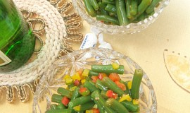 Lehký fazolkový salát