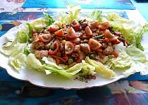 Letní salát s krůtím masem