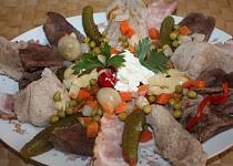 Masitý salát