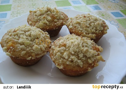 Meruňkové muffiny