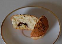 Muffiny s banánkem v čokoládě